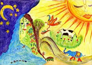 Rajzolta: Hőgye Ádám 11 éves