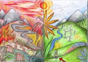 Rajzolta: Rémiás Szilvia (14 éves)