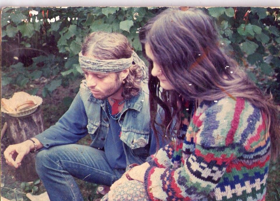 onok Péter és Járai Erzsébet - a történész, író későbbi felesége 1988 nyarán
