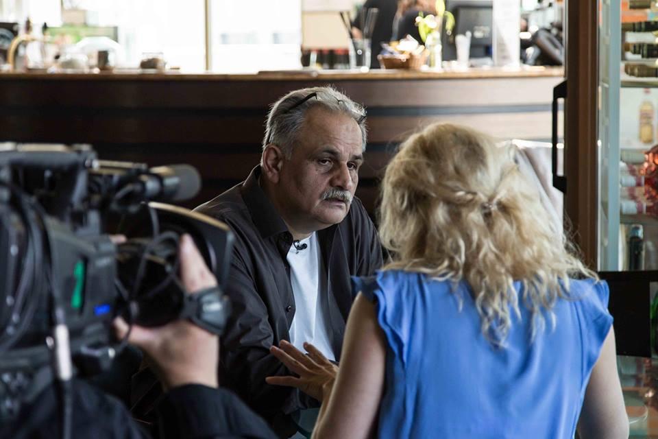 Joka Daróczi János a Roma Produkciós Iroda Alapítvány vezetője a rendezvény főszervezője