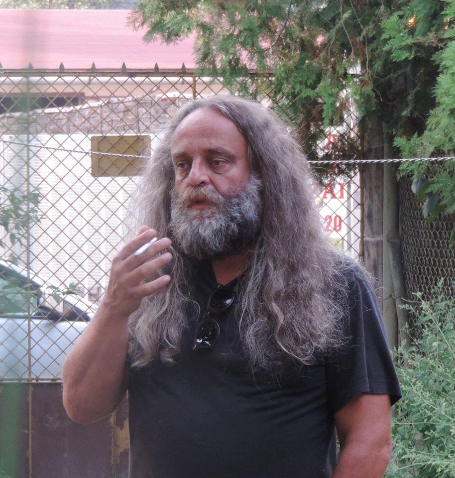 Konok Péter történész, publicista, fordító - fotó - Láng Judit