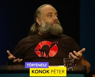 Konok Péter író, történész