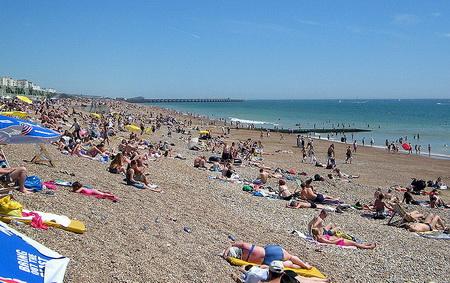 Brighton-tengerpart
