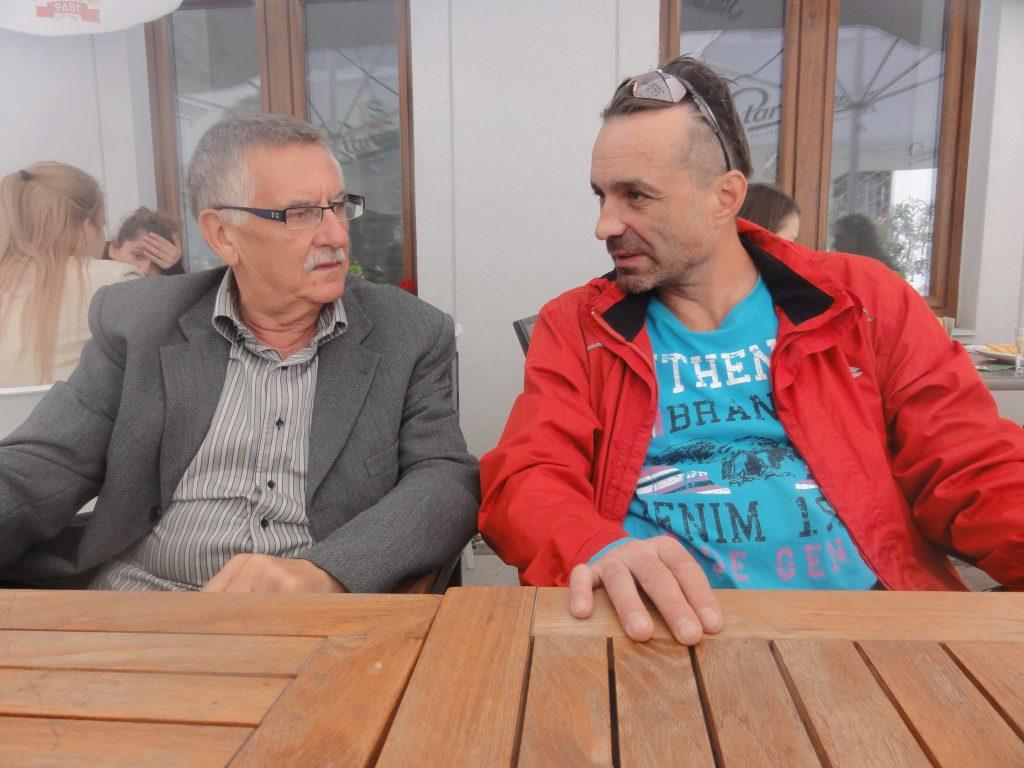 Bettes István és Krausz Tivadar - fotó Görög Mása