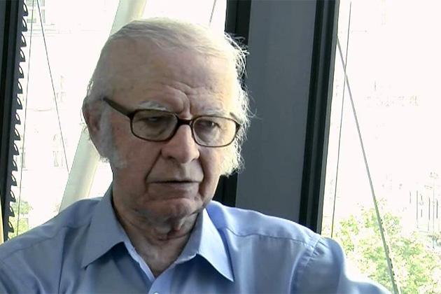 Tőzsér Árpád költő, író (Fotó: MMA)