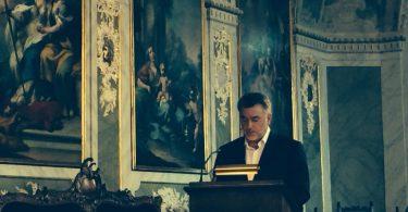 Zsigó Jenő emberjogi aktivista a magyarországi romák helyzetéről beszél - fotó: Zsigó Jenő privát albumából
